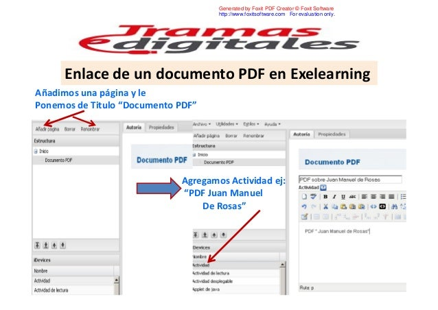 Generated by Foxit PDF Creator © Foxit Software http://www.foxitsoftware.com For evaluation only.  Enlace de un documento ...