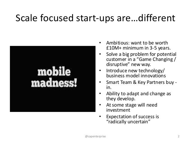 Incubating, accelerating and financing london's mobile Slide 2