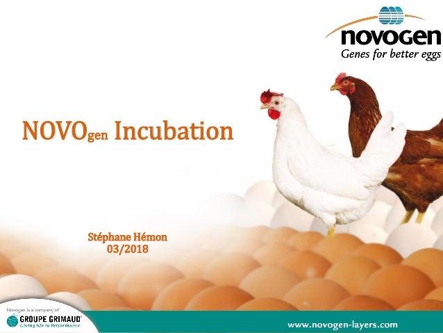 NOVOgen Incubation Stéphane Hémon 03/2018