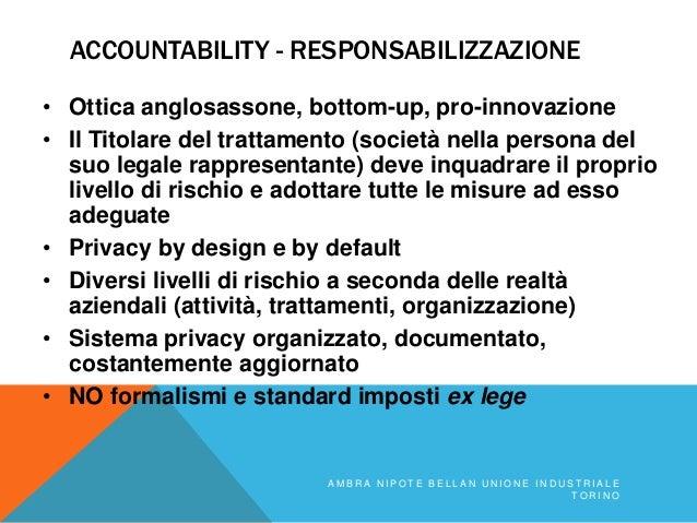 Il GDPR nelle startup Slide 2