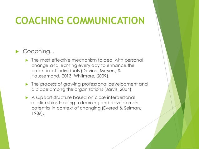coaching environment We promote skills, attitudes and values in support of sustainable and just societies.
