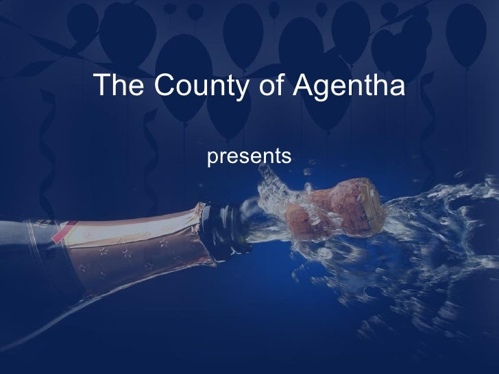 new year ppt template for powerpoint presentation the county of agentha presents