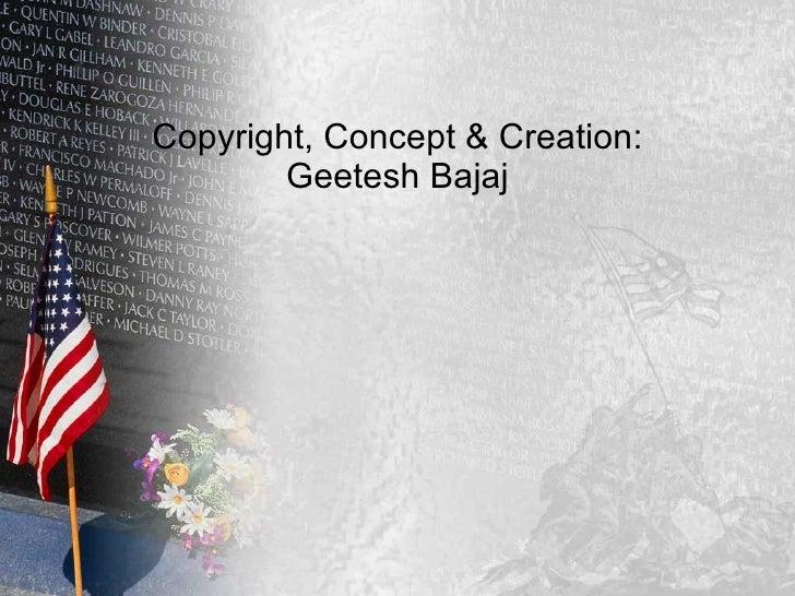Free memorial day powerpoint template copyright concept creation geetesh bajaj toneelgroepblik Gallery
