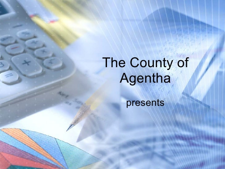 Free accounting powerpoint template free accounting powerpoint template the county of agentha presents toneelgroepblik Choice Image
