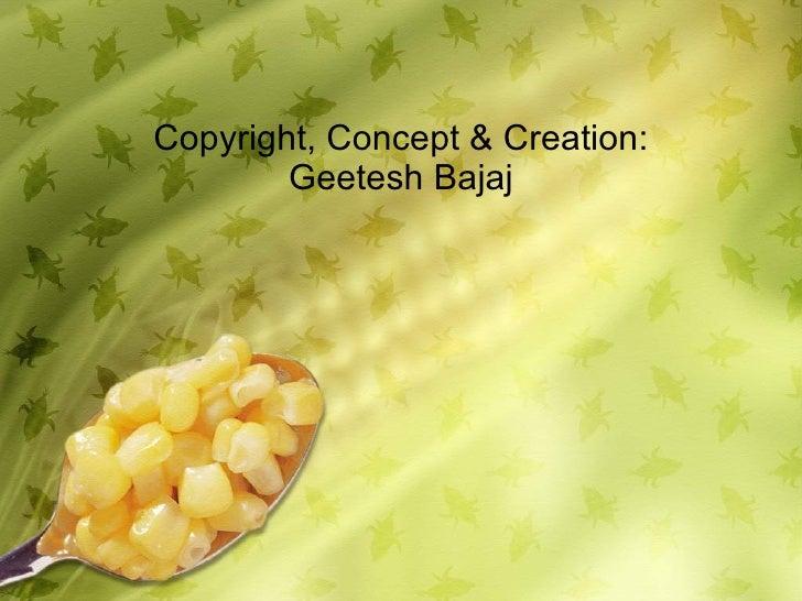 Corn Powerpoint Background