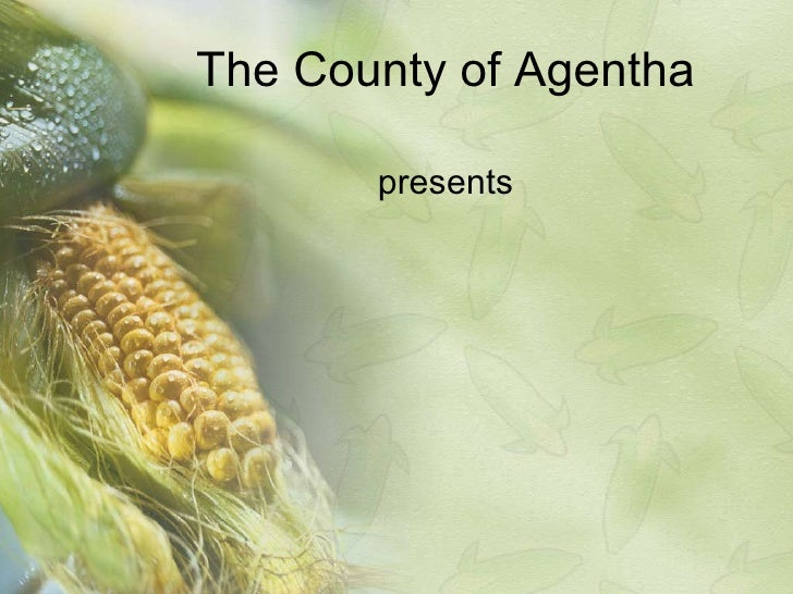Corn PowerPoint Presentation Template