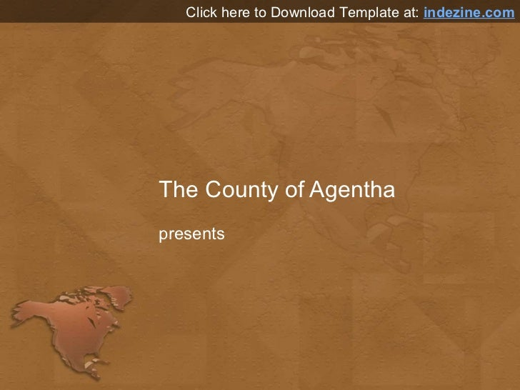 North america map powerpoint template north america map powerpoint template the county of agentha presents click here to download template at indezine toneelgroepblik Gallery