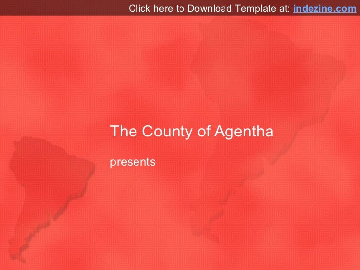 south america map powerpoint template