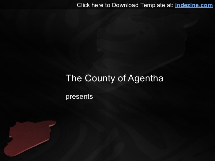 Syria Map PowerPoint Template The County Of Agentha Presents Click Here To Download At Indezine
