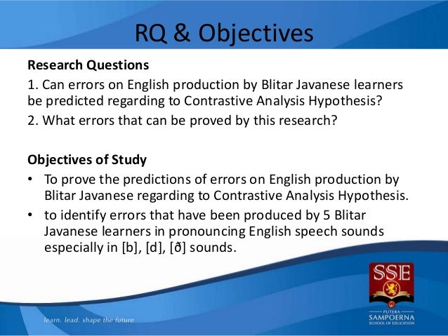 ing exercises of contrastive analysis Concerning contrastive analysis a survey is made of seven stages in the development of contrastive lexicology these are: prelinguistic word studies.