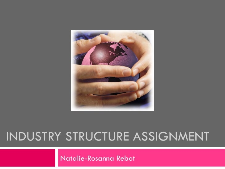 INDUSTRY STRUCTURE ASSIGNMENT Natalie-Rosanna Rebot