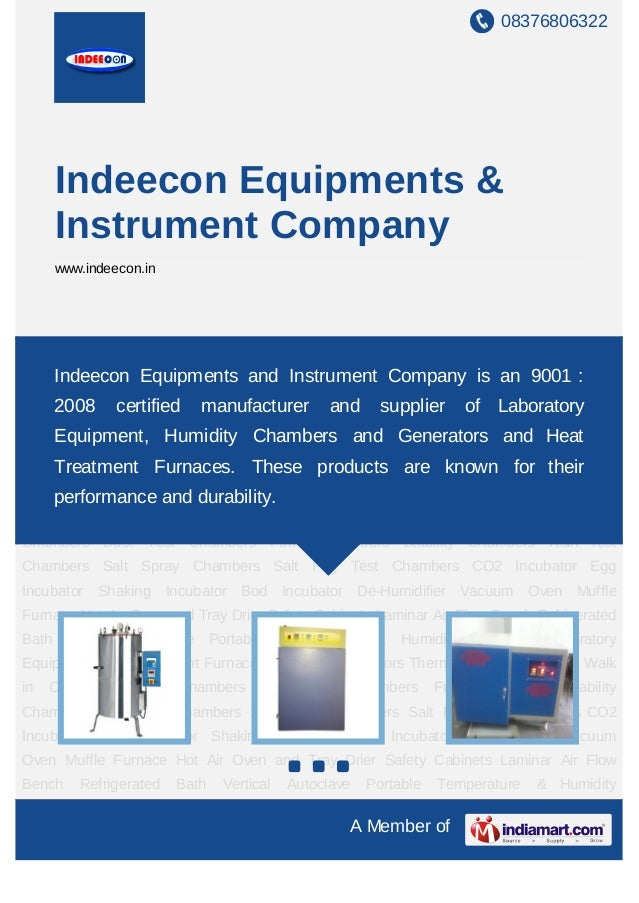 08376806322       Indeecon Equipments &       Instrument Company       www.indeecon.inLaboratory Equipment Heat Treatment ...