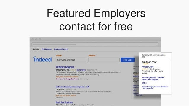 indeedinteractive no seat license 24 featured employers - Free Resumes For Employers