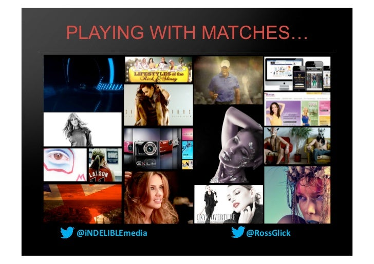 PLAYING WITH MATCHES…