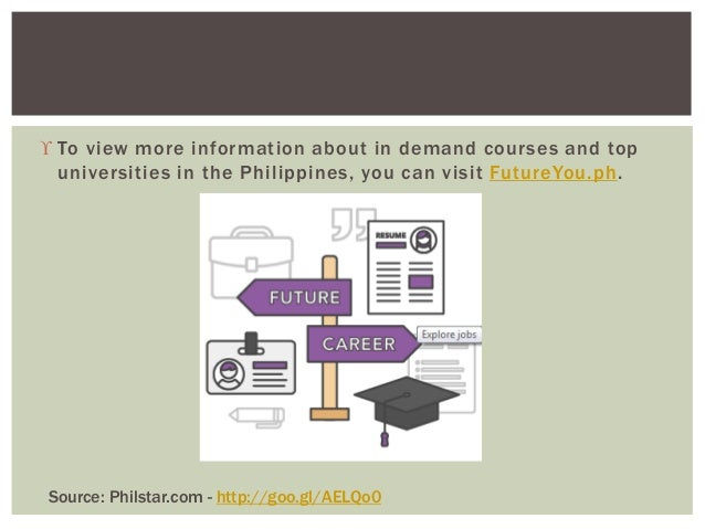In Demand Courses In The Philippines In 2017 2018 According To Ched