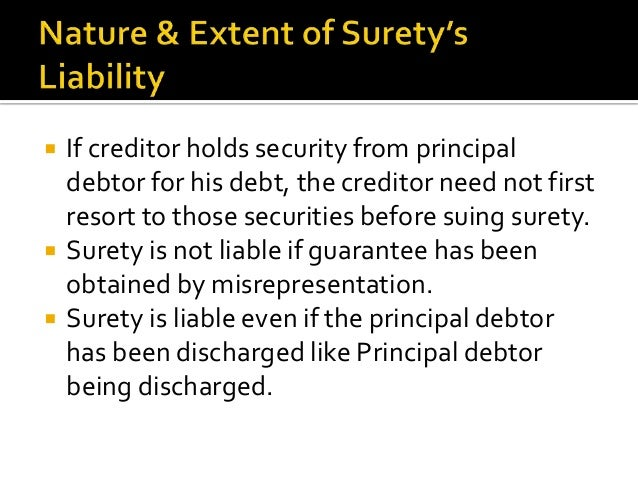 Ordinary Guarantee When a guarantee is given for a single specific debt or transaction, it is called ordinary transaction....