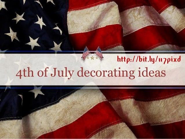 4th of July decorating ideashttp://bit.ly/117pixd