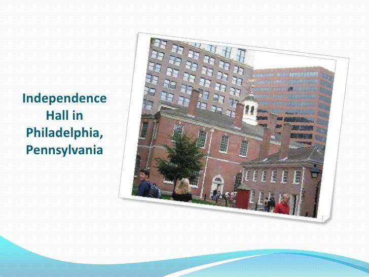 Independence Hall in Philadelphia, Pennsylvania<br />