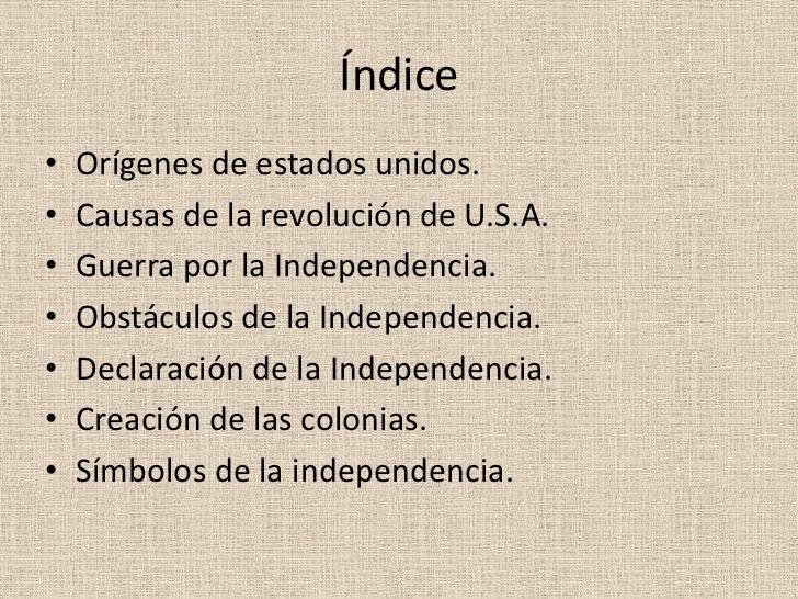 Independencia de estados unidos (2) Slide 2