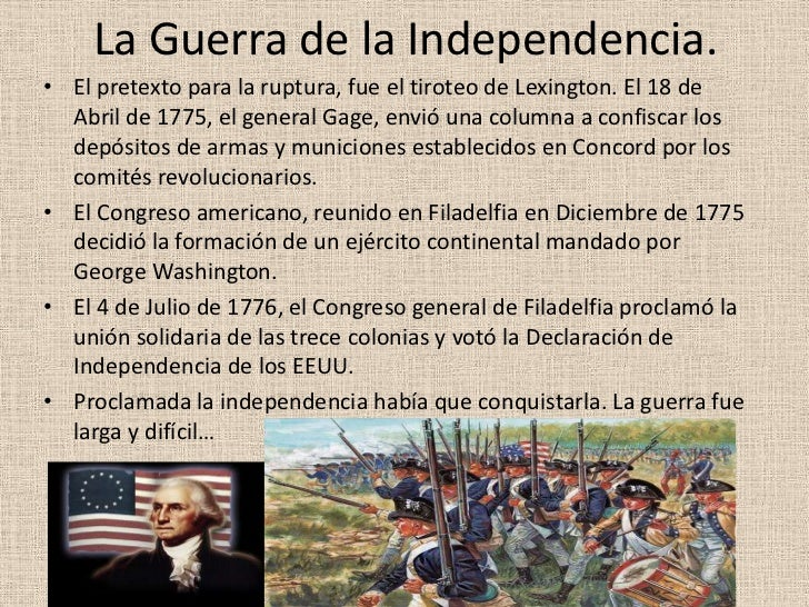 independencia de estados unidos 2