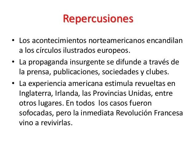 Independencia de las 13 colonias norteamericanas