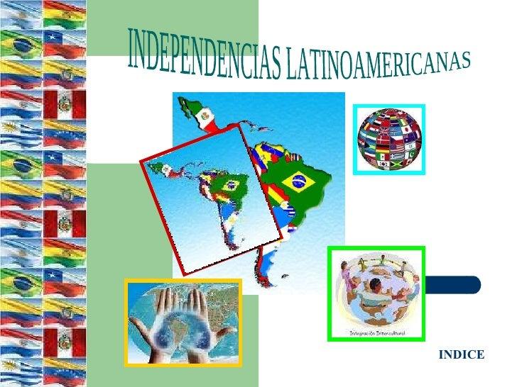 Mes de Independencia de las Americas