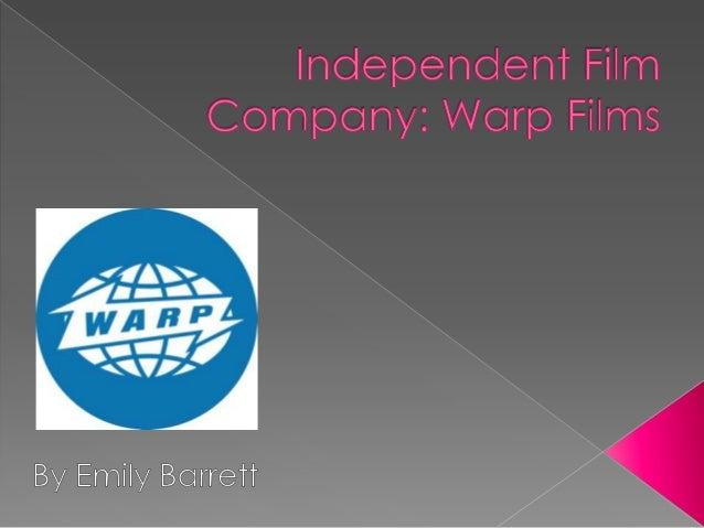  Warp Films was created with financial support fromNESTA and secure extra funding from the BBC and Film4 to help distribu...