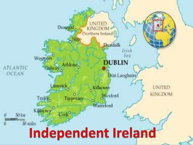 Map Of Ireland 26 Counties.Independent Ireland From Free State To 26 County Republic