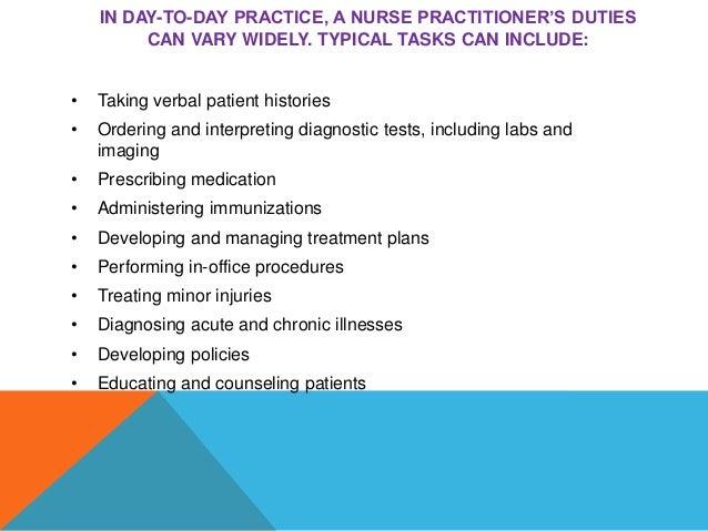 Independent Nurse Practitioner