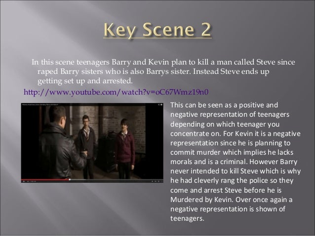  In Waterloo Road and Harry Brown teenagers have been dressed in a way which is similar to how they dress daily, whether ...