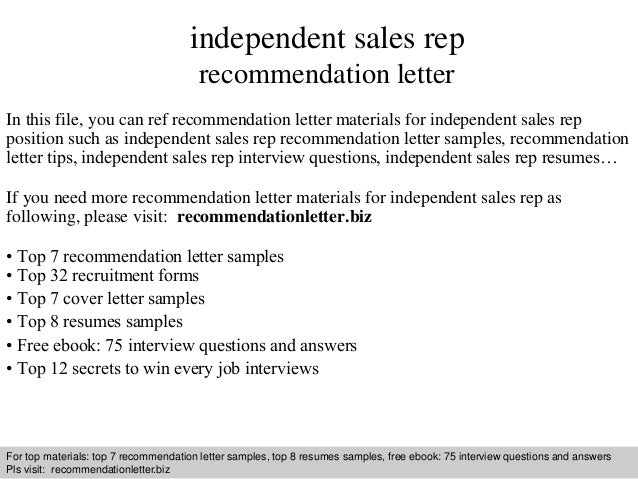 independent-sales-rep-recommendation-letter-1-638 Sales Rep Application Letter on