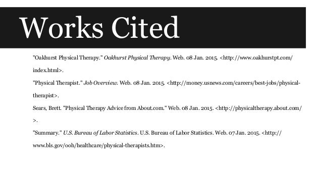 physical therapist bls