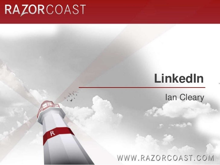 LinkedIn<br />Ian Cleary<br />