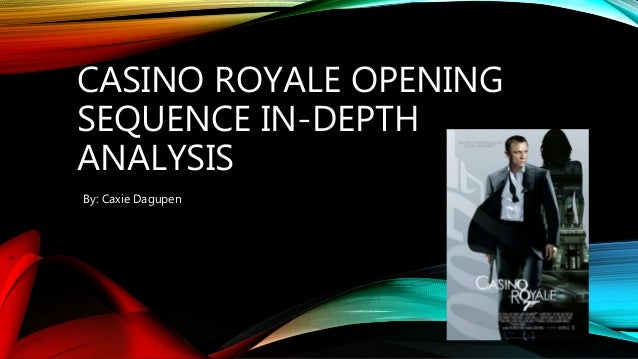 casino royale opening scene