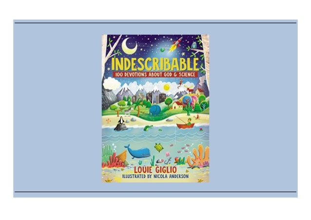 (Unduh) [Kitaplar] Indescribable: 100 Devotions for Kids About God and Science