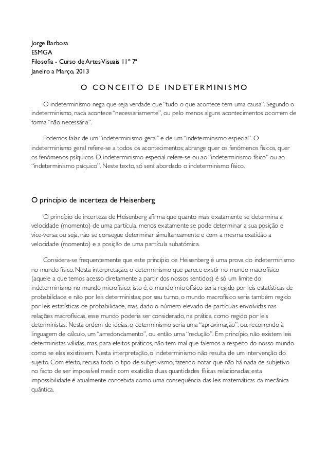 Jorge BarbosaESMGAFilosofia - Curso de Artes Visuais 11º 7ªJaneiro a Março, 2013                   O C O N C E I TO D E I N...