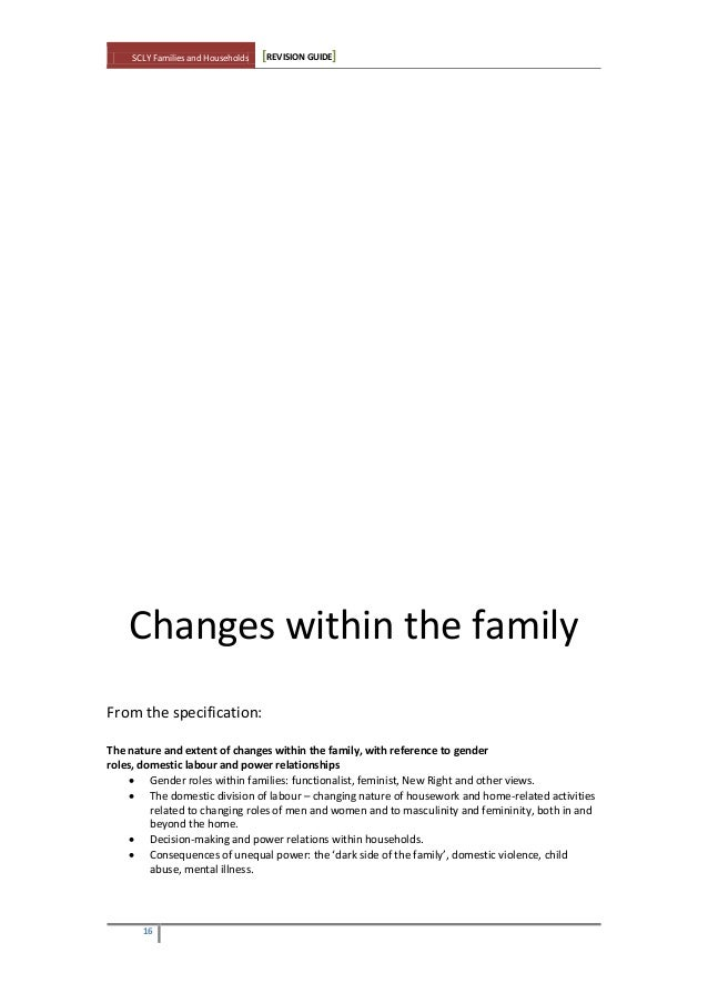 gp essay questions family