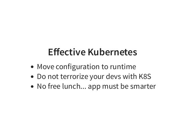 6. KEEP IT RUNNING Bridge the new with old: Use External Services in Kubernetes Expose k8s in the Legacy [1] [1] hard code...