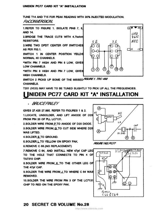 Famous Uniden Cb Mic Wiring Diagram Gallery - Schematic Diagram ...