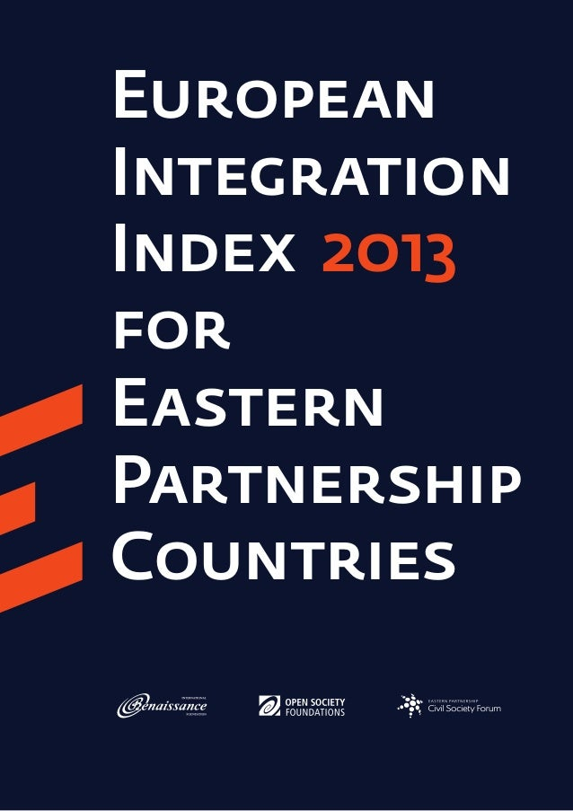 European Integration Index 2013 for Eastern Partnership Countries