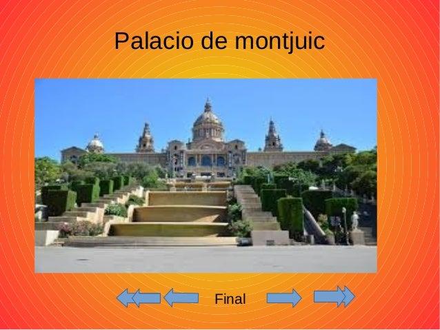 Palacio de montjuic  Final