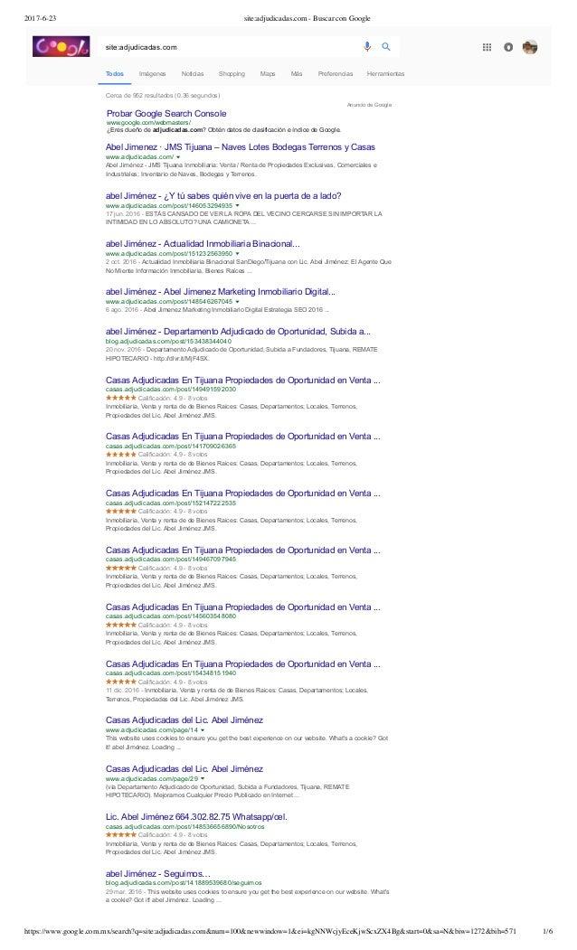 Index De Google Dominio Adjudicadas Dot Com Seo Digital Marketing