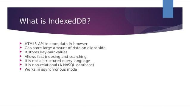 [@NaukriEngineering] IndexedDB Slide 2