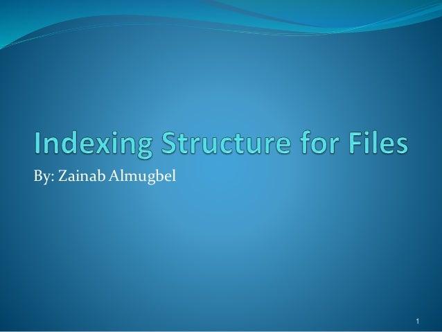 By: Zainab Almugbel 1