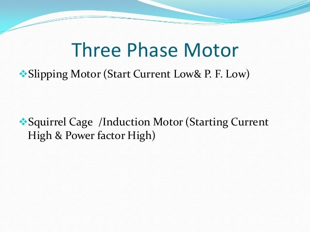 Three Phase Induction Motor Starting Current 28 Images