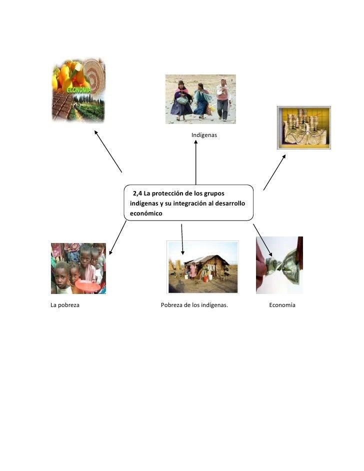 48348901043940<br />Indígenas<br />  2,4 La protección de los grupos indígenas y su integración al desarrollo  económico<b...