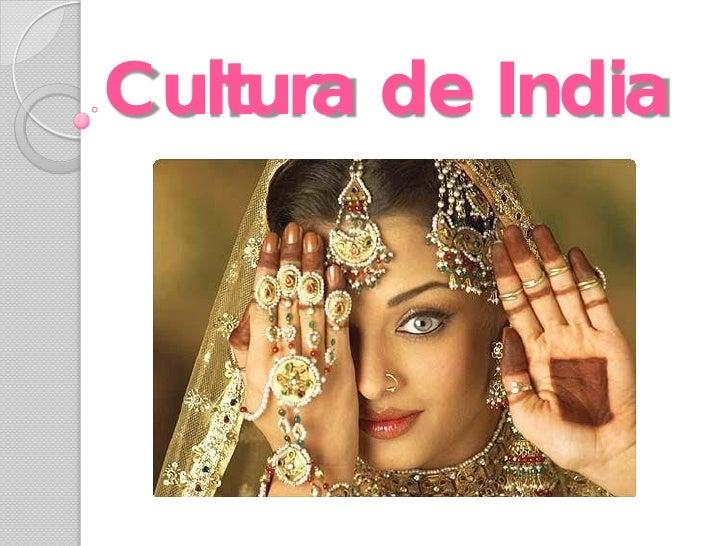 Cultura de India