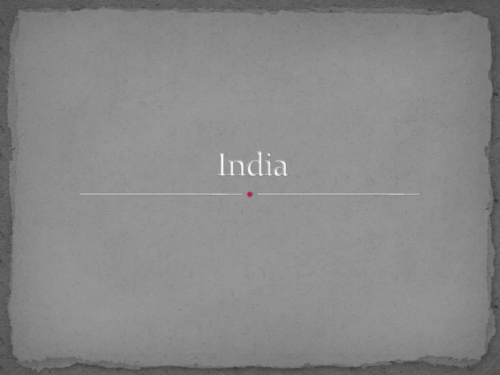 India<br />