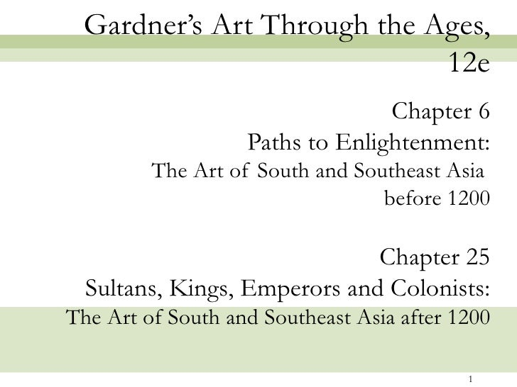 Gardner's Art Through the Ages,                            12e                                 Chapter 6                  ...
