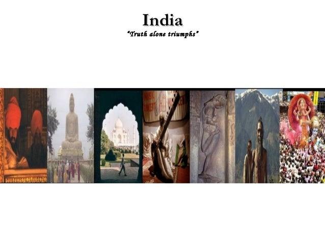 "India""Truth alone triumphs"""